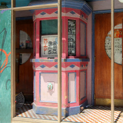 Orient Palace (Detail: view of ticket booth)